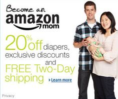 Minimize expenditures by AMZN Mom, why not! ;)