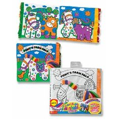 Color And Cuddle Coloring Book Ponys Farm Pals by Alex Toys. $6.74. For Age 3 years and up. Super-cute coloring books that you can color over and over again! Each machine-washable book comes with 6 washable markers. Books feature popular Color & Cuddle characters in their own adventures.