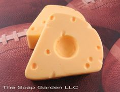Soap  Cheese Head Hat Soap  Glycerin Soap  Exclusive by SoapGarden, $5.50