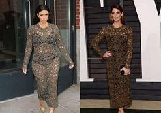 Kim Kardashian Vs. Ashley Greene In Rachel Roy: Who Wore It Best?