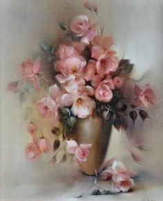 Jill Kirstein - �still Life Roses And Urn�