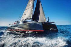 Luxury Sailing Yachts, Sailing Catamaran, Cat Races, Shark Bait, Side Deck, A Decade, Boat, Drink, Men