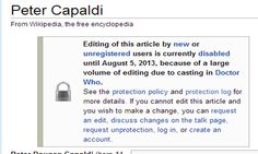 ...and so the Whovians broke Wikipedia