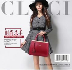 Cluci Genuine Leather Bags Handbags Women Famous Brand Wine Red Causal Small Shoulder Tote Bag Ladies Purses And Handbags Bolsos