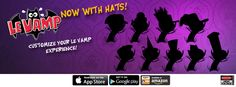 Le Vamp will soon have HATS! Check out this unreleased art! http://high-voltage.com/
