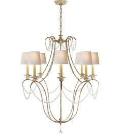 Dining room chandelier (no shades)