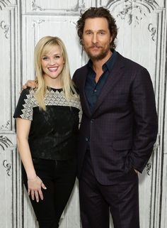"Reese Witherspoon and Matthew McConaughey at the AOL Build Presents ""Sing"" 