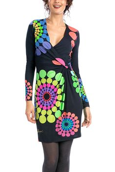 Image result for desigual charly long sleeve dress