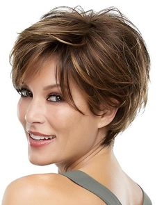 Unique Ideas: Women Hairstyles Over 50 Pictures hairstyles with bangs.Women Hairstyles Short Mom older women hairstyles over Hairstyle Vintage. Short Hairstyles For Women, Hairstyles With Bangs, Cool Hairstyles, Short Layered Hairstyles, Black Hairstyles, Hairstyles 2016, Wedding Hairstyles, Hairstyle Ideas, Bouffant Hairstyles