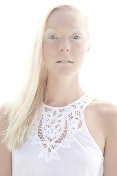 High Key Portrait of Platinum Blonde Finnish Girl II Finnish Women, Platinum Blonde, Dark Beauty, Portrait, Tank Tops, Pretty, Key, Google, Fashion