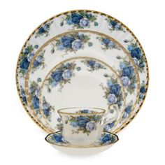 Royal Albert Moonlight Rose Dinnerware - BedBathandBeyond.ca