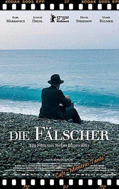 "Cine Sala ""Charles Chaplin"" - Los falsificadores (2007) - Ingresa a la sala pulsando el Link: http://cine-sala-a01-jcp.blogspot.com/2016/04/los-falsificadores-2007-dir-stefan.html"