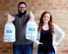 Our Baby Announcement! This is how we shared we were pregnant with Baby Number 2!  Ice, Ice Baby!