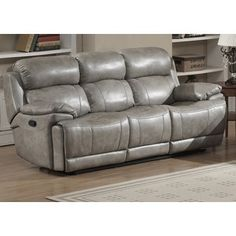 Shop for Estella Contemporary Reclining Sofa with 2 Recliners. Get free shipping at Overstock.com - Your Online Furniture Outlet Store! Get 5% in rewards with Club O! - 17897398