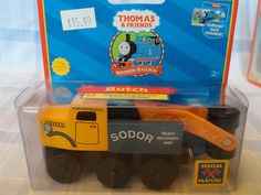 Thomas the Train - Wooden - BUTCH THE TOW TRUCK - 2003 - Limited - UnOpened