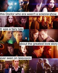 ♥ I agree with this so much. #ThePonds #GreatestLoveStoryEver