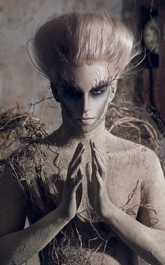 make up and costume for god of earth