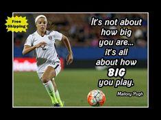 Mallory Pugh Girls Soccer Inspiration Wall Art Daughter #soccerinspiration