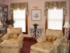 swags & jabot Window Coverings Project Photo Gallery for Inside Designs in Gill, MA