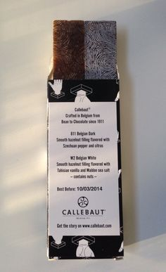 callebaut chocolate packaging - Buscar con Google