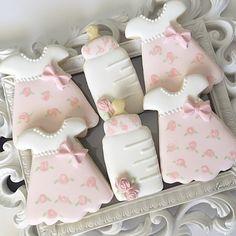 Baby Dress Cookies