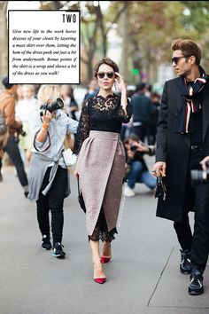Contrary to popular beliefs, you don't need expensive clothes to look chic. With these DIY fashion hacks, you can look posh – without spending too much money. Look Fashion, Street Fashion, High Fashion, Net Fashion, Dress Fashion, Fashion Idol, Trendy Fashion, Diy Fashion Hacks, Fashion Tips