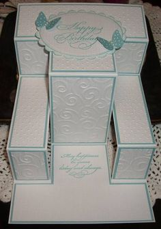 Tri Shutter Meets White by LynniePoo - Cards and Paper Crafts at Splitcoaststampers