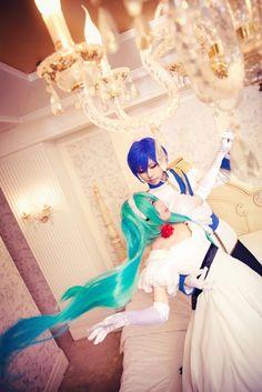 Hatsune Miku and Kaito Shion! Is This Cantarella? 初音ミクXかいとしおん!☆*:.。. o(≧▽≦)o .。.:*☆