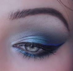 Blue 'Jack Frost' eyes
