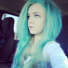 faded Splat Aqua Rush #splat #pastelhair #greenhair #scenehair Aqua Hair, Pastel Hair, Scene Hair, Hair Color, Hair Beauty, Long Hair Styles, Heart, Haircolor, Long Hairstyle