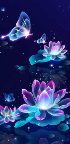 Flowers Wallpaper Iphone Purple Backgrounds Ideas For 2019 Neon Wallpaper, Butterfly Wallpaper, Butterfly Art, Disney Wallpaper, Mobile Wallpaper, Wallpaper Backgrounds, Iphone Wallpaper, Butterflies, Art Papillon