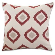 Chenille Diamonds Cushion