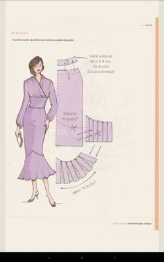 Dress Sewing Patterns, Blouse Patterns, Clothing Patterns, Pekinese, Sewing Alterations, Pattern Drafting, Sewing Basics, Fashion Sewing, Sewing Techniques