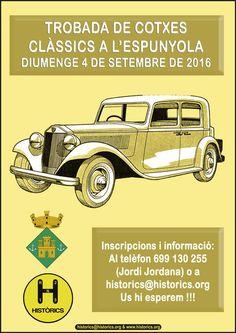 Encuentro de coches clásicos en L'Espunyola
