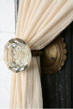 Door Knob Curtain Tie-Back UO