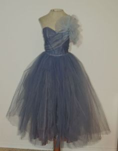 1950s-Blue-Tulle-Strapless-Prom-Dress-SM-w-25