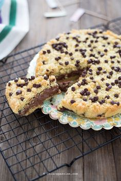 recipe crostata with nutella Sweet Recipes, Cake Recipes, Dessert Recipes, Cooking Cake, Cooking Recipes, Nutella Recipes, Italian Desserts, Pie Dessert, Love Food