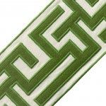 "Samuel and Sons Passementerie 5"" GREEK FRET EMBROIDERED BORDER"