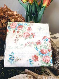"""2,95 €  Servietten """"Blumen"""" Vintage Stil, Tote Bag, Totes, Tote Bags"""