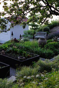 . Halloj onsdag! . Det blir mycket trädgård nu som ni märker, men det går liksom inte att låta bli! Det kliar i fingrarna och varje ledig stund går åt till att leta inspiration och planera för...