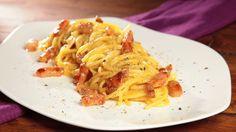 Famous italian recipe from Lazio