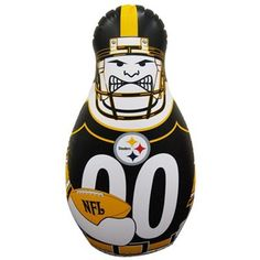 Pittsburgh Steelers 40'' Inflatable Tackle Buddy Punching Bag