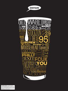 POSTER drink typography