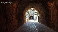 En los años setenta, éstos túneles sirvieron de carretera.