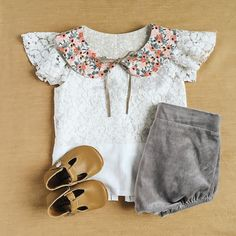 Toddler girl outfit by @billy_bibs