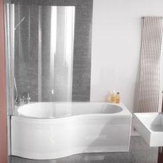 Small Corner Bath With Shower Screen Google Search