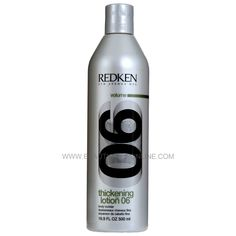 Redken Thickening Lotion 06 Body Builder adds extra body and texture for full, fabulous style. Best Hair Care Products, Bodybuilding Diet, Oily Hair, Hair Care Tips, Hairspray, Beauty Shop, Bath And Body, Lotion, Shampoo