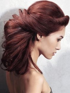 Long Updo Hairstyle - Hair Styling Ideas for Long Hair 2012