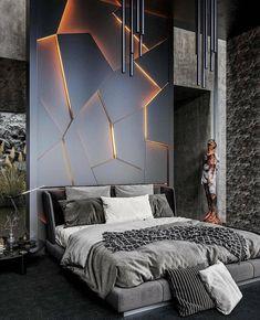 home decor bedroom design Luxury Bedroom Design, Bedroom Bed Design, Luxury Interior, Home Decor Bedroom, Bedroom Ideas, Bedroom Wall Designs, Modern Luxury Bedroom, Luxury Furniture, Bedroom Furniture