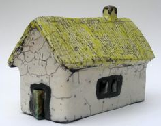 Raku Irish house by Marike Hoekstra (****Duplicate Pin)